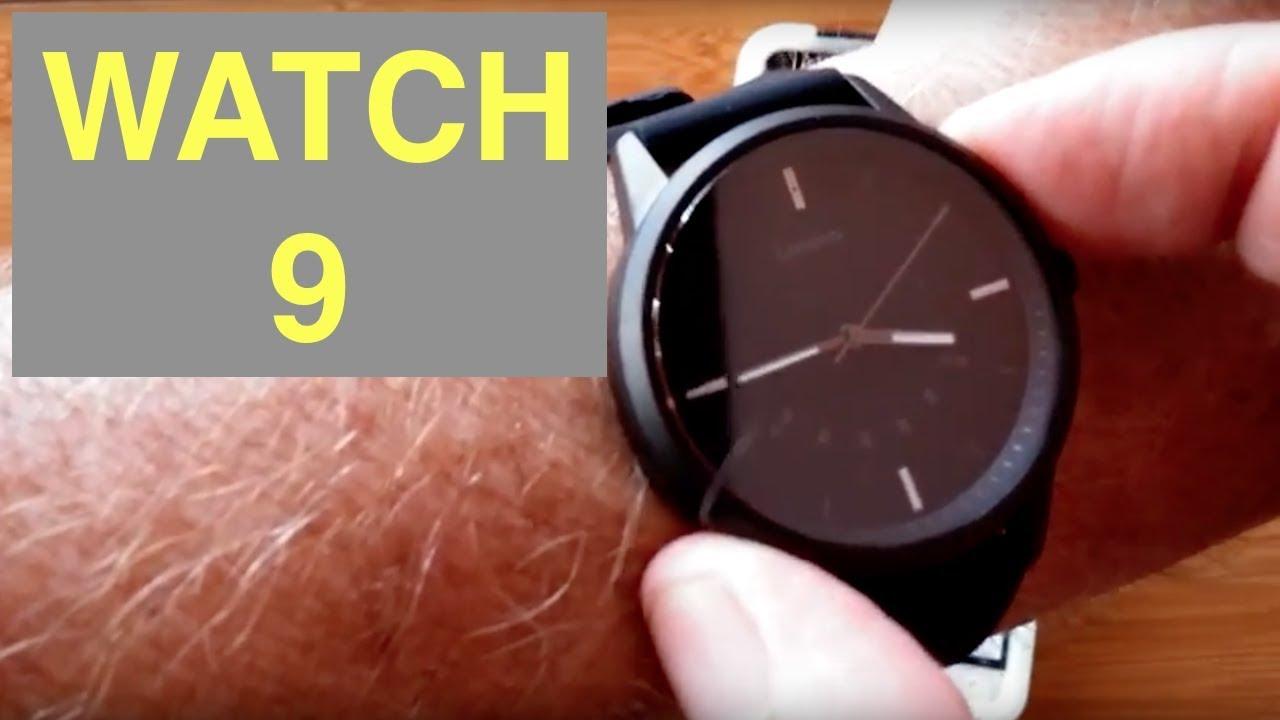 Lenovo Watch 9 Hybrid Analog Smartwatch Luminous Dial 5atm