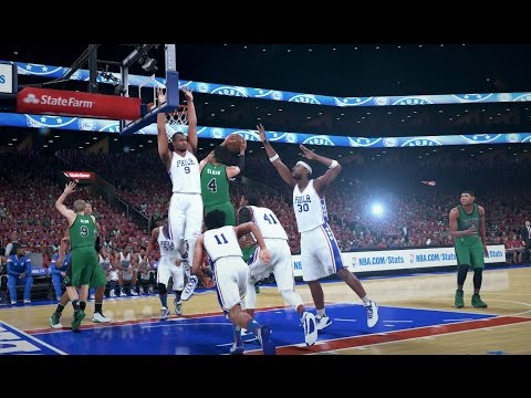 NBA 2K16 My Career №150 Play-offs R1 G1 & press