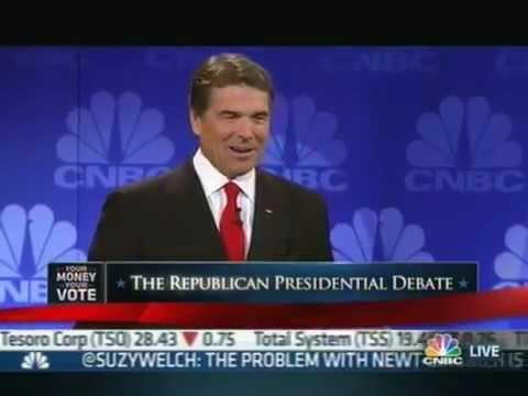 Rick Perry Forgets His Own Plan (GOP Debate)