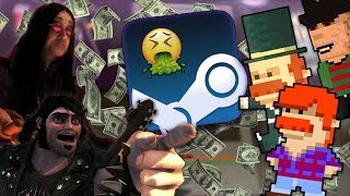 """I Bought 5 """"Premium"""" Steam Games For $8. Here is what happened. thumbnail"""