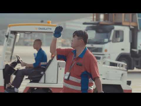 Jardine Aviation Ground Operations at Hong Kong International Airport