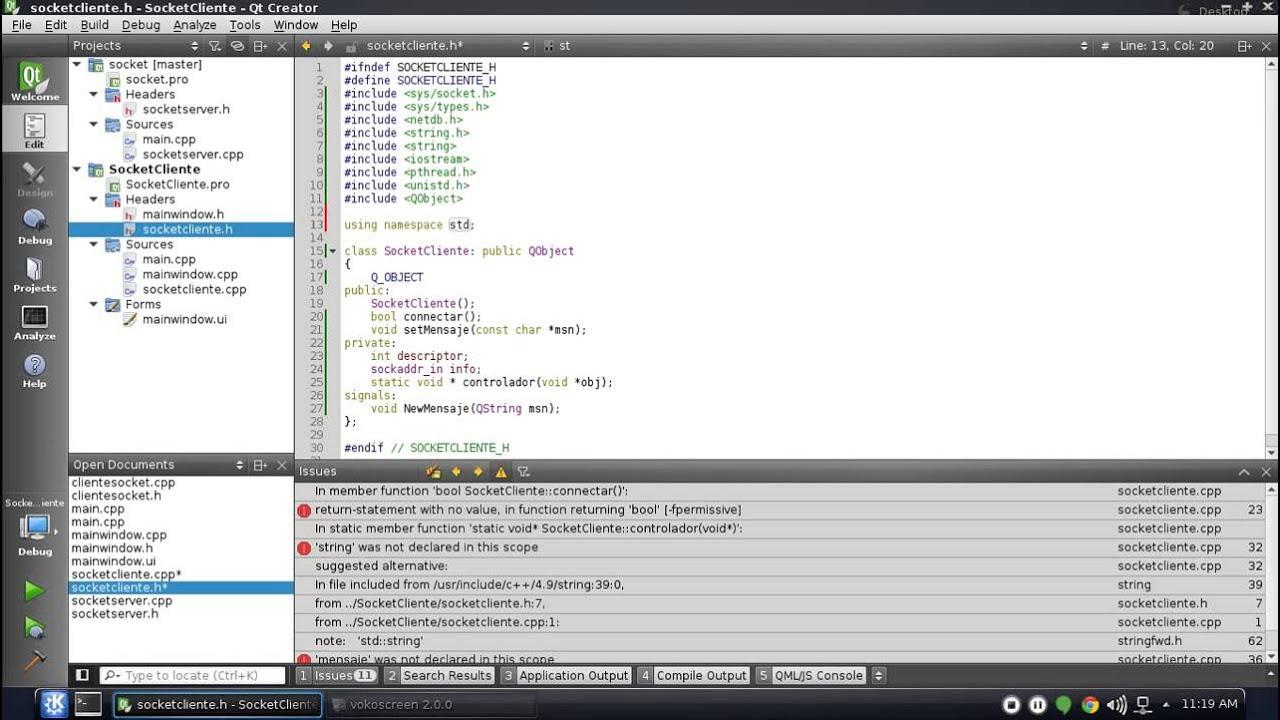 Socket en c++ linux (Chat)P2