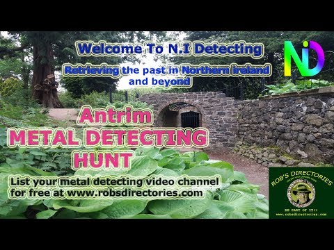 A few hours metal detecting in Antrim, Northern Ireland