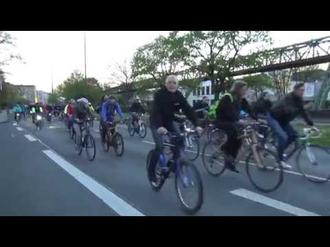 Critical Mass Wuppertal - Mai 2015