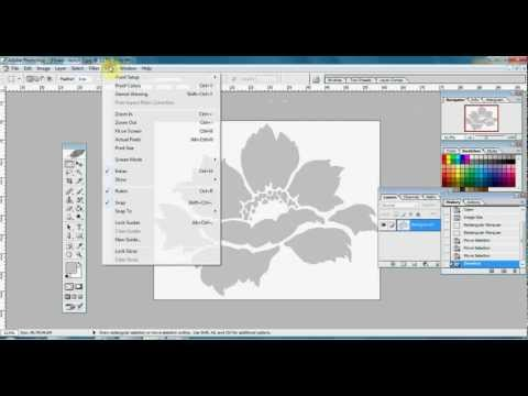how to print poster using photoshop