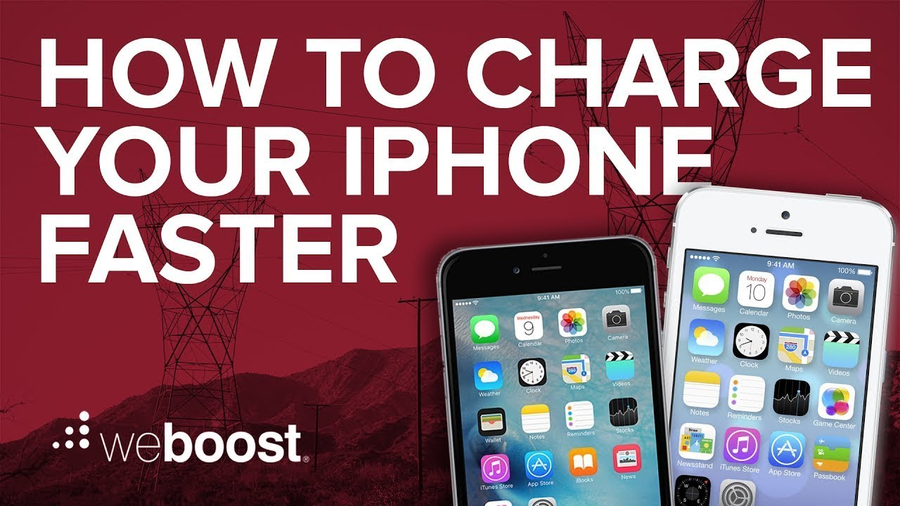 how to charge iphone faster how to charge your iphone faster weboost 17100