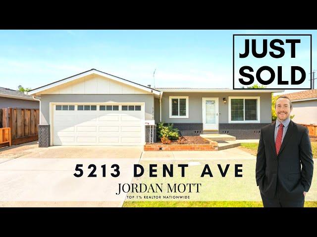 Just Sold in San Jose | 5213 Dent Ave, San Jose, CA 95118 | Jordan Mott