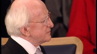Inauguration of Michael D Higgins - President of Ireland