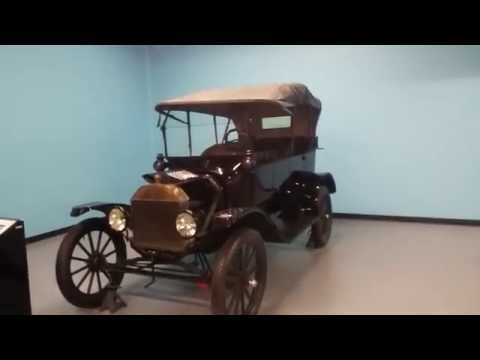 1916 Ford Model T at Science Museum Oklahoma City