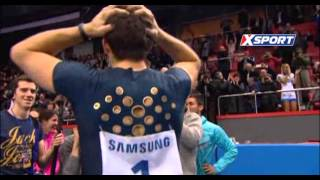 Pole Vault (Donetsk) : Renaud Lavillenie at 6.16 m (WORLD RECORD !)