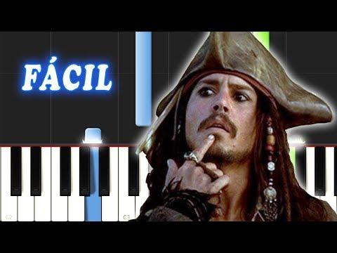 Piratas Del Caribe / FACIL / Piano Tutorial