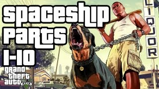 Grand Theft Auto 5 Collectibles Walkthrough - Spaceship Parts 1-10