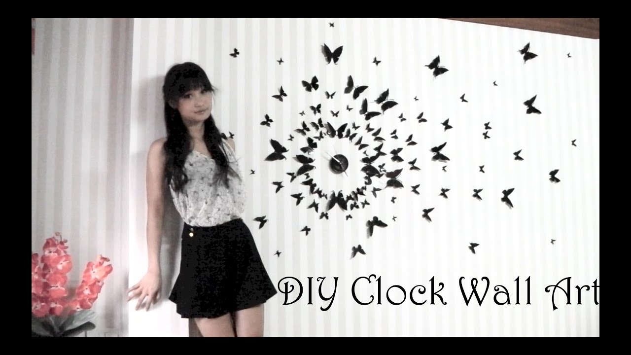 DIY Clock Wall Art (3D)