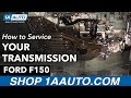 How To Service The Transmission 97 04 Ford F150
