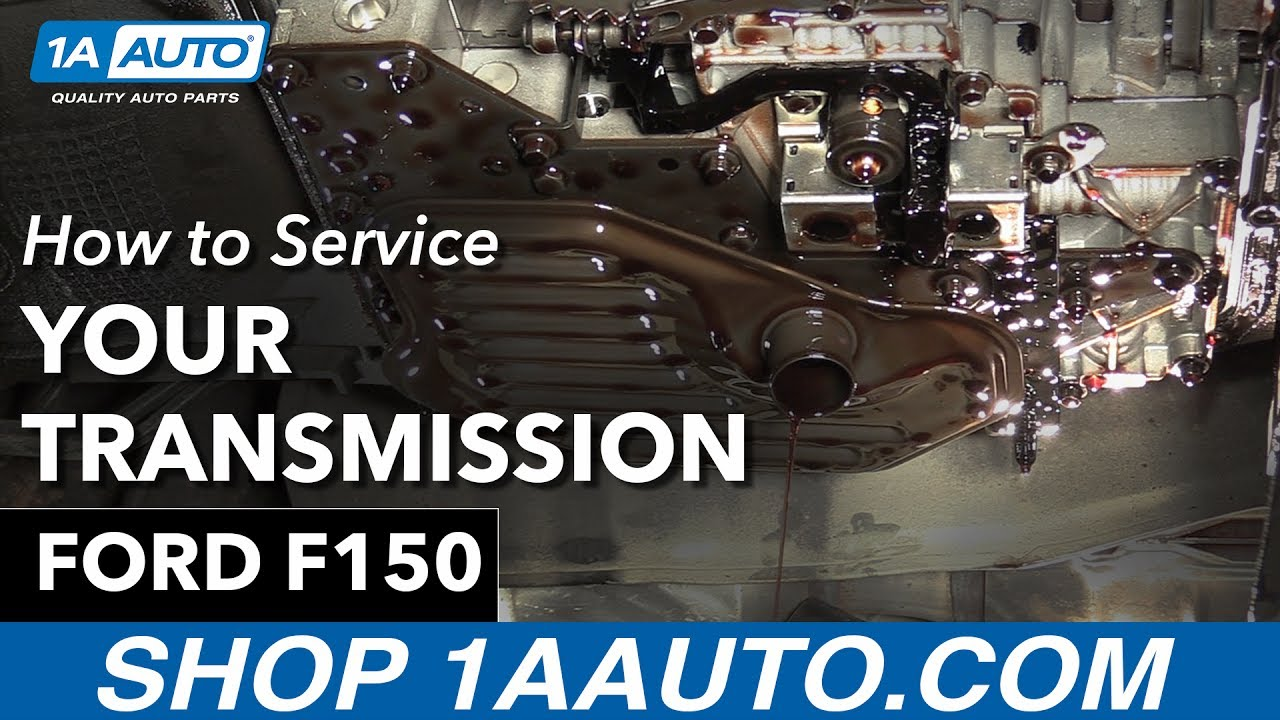 How To Service The Transmission 97 04 Ford F150 Youtube