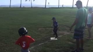 My girl fielding in T-ball