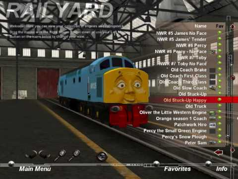 My Thomas Trainz Collection Part 6 - YouTube