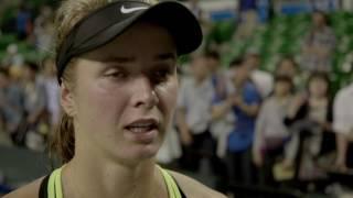 Elina Svitolina 2016 Toray Pan Pacific Open Quarterfinal Interview