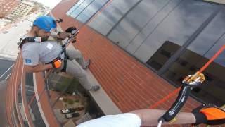 One City Center in Portland Maine May 14, 2016 Went over the Edge!!