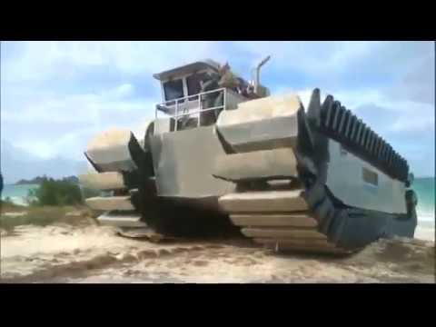 Marines Test UHAC Heavy Lift Amphibious Landing Vehicle