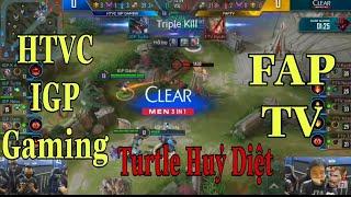 IGP vs FTV | Kriknak Trong Tay Turtle Huỷ Diệt FAP TV | ĐTDV Mùa Xuân 2020 | Liên Quân Mobile