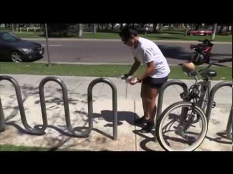 How To Properly Lock Your Bike Youtube
