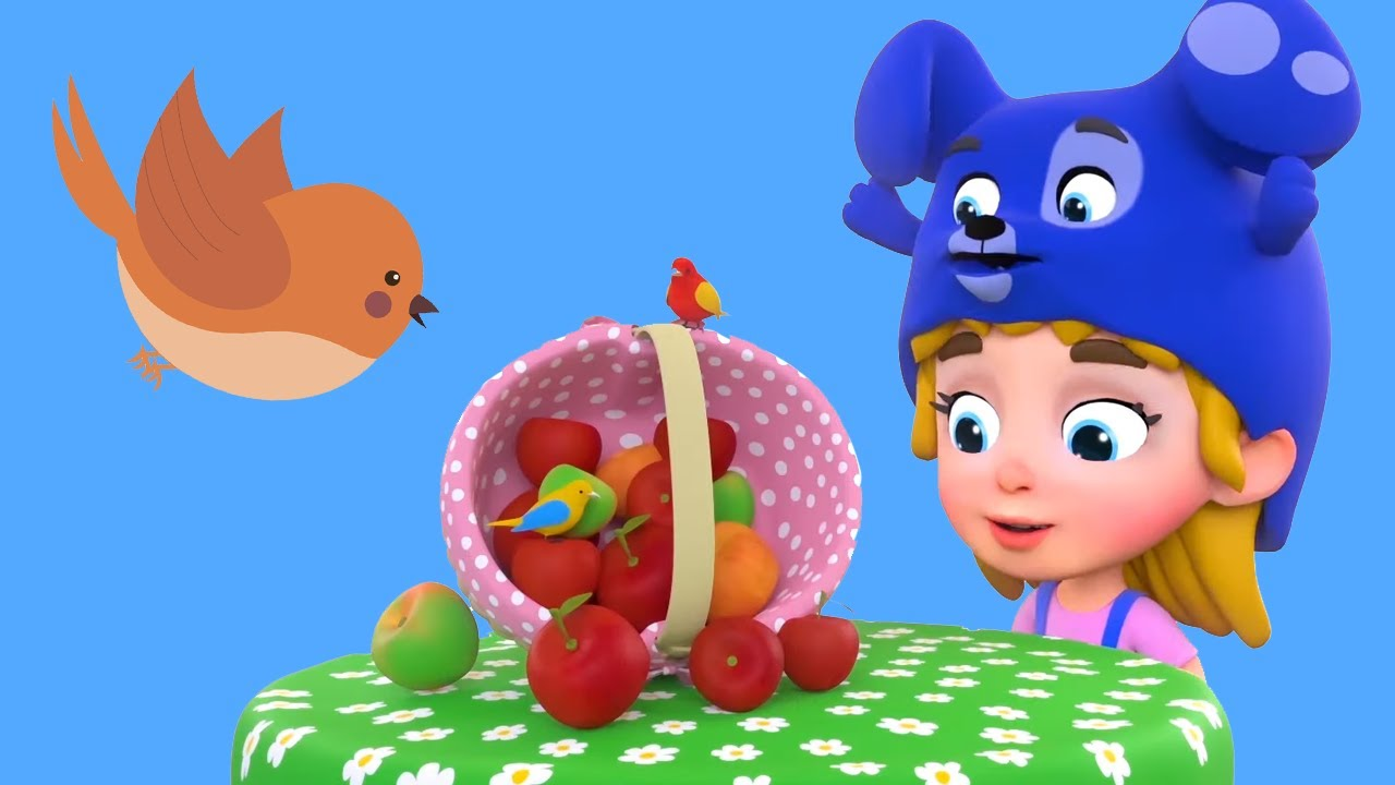 Songs about fruits and friendship + More Nursery Rhymes & Simple Songs for kids by Funny Hats