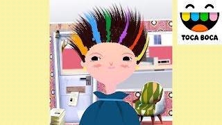 TOCA BOCA Toca Hair Salon | Videos for Kids | Cut, Trim, Wash, Color Hair And Lot More Fun