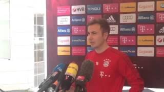 Mario Götze zum FC Liverpool? Der Bayern-Star nimmt zu den Gerüchten Stellung - FCB in Doha 2016