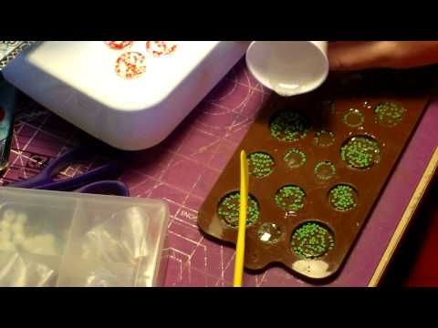 How to make Homemade buttons using Epoxy Resin 2