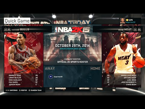 NBA 2K15 - Gameplay | PS4 - Chicago Bulls VS Miami Heat - Full Game (Epic Game!)