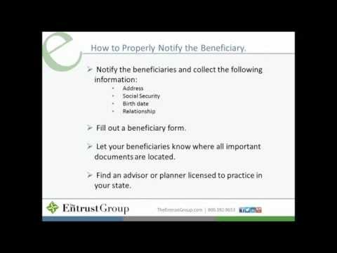 Your Real Estate Legacy Self Directed IRA Beneficiary Options
