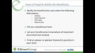 Your Real Estate Legacy: Self-Directed IRA Beneficiary Options - Video Image