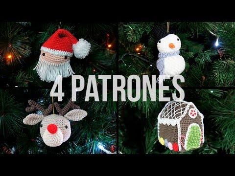 Amigurumis Navideños Patrones Gratis : Patrones de amigurumis para la navidad youtube
