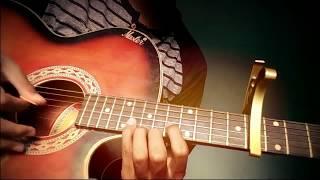 Mero Maya ' Bipul Chettri ' Guitar Solo Cover by Pawan