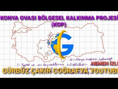 Konya Ovası Projesi YHT animasyonu