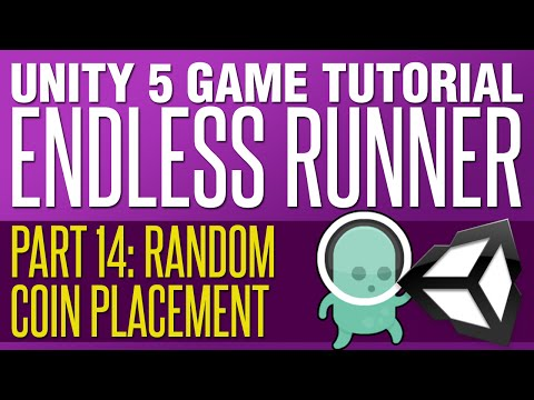 Unity Endless Runner Tutorial #14 - Random Coin Placement