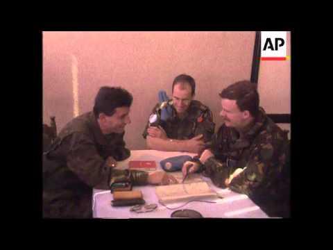 Bosnia/Croatia - UN Positions in Brcko/Akashi
