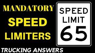 New Mandatory 65 MPH Truck Speed Limit   S. 2033   Trucking Answers