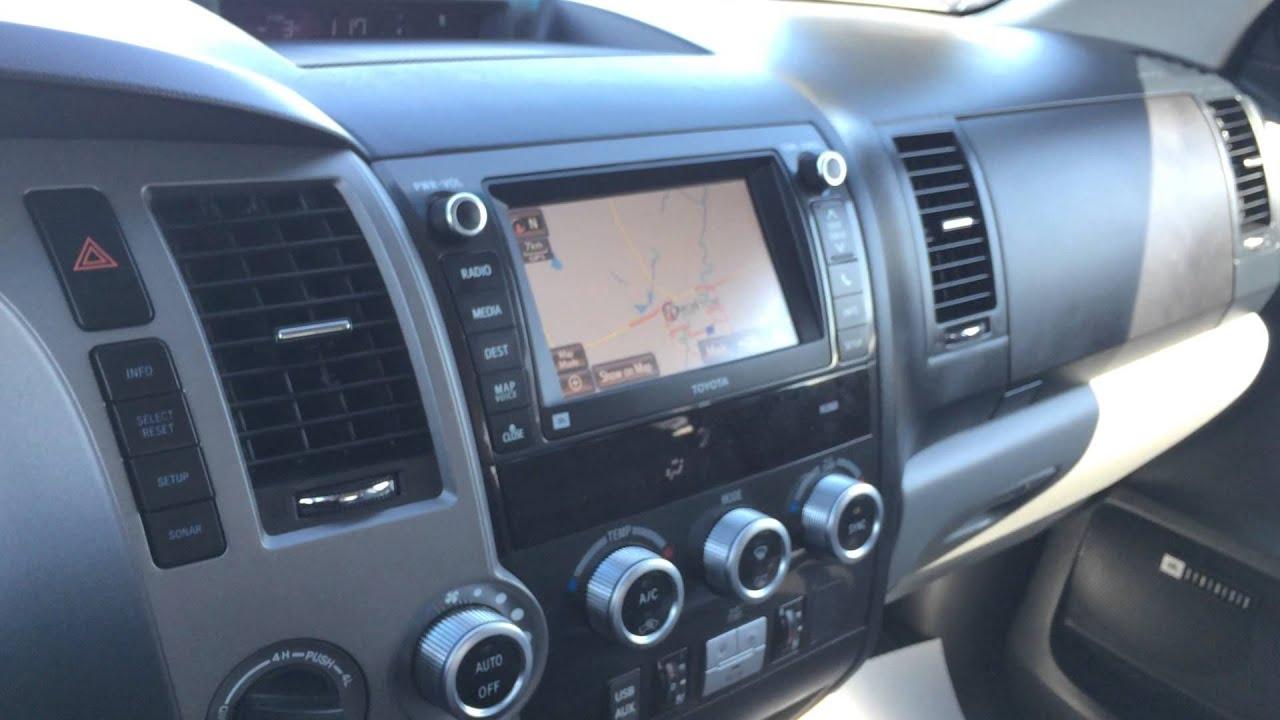 2013 Toyota Sequoia Platinum Youtube