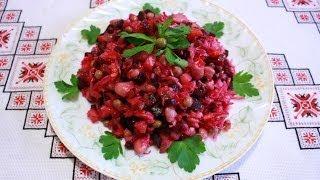 Винегрет рецепт салат винегрет как приготовить просто и быстро Вінегрет рецепты домашней кухни