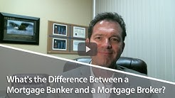 Houston Area Real Estate: What's the Difference Between a Mortgage Banker and a Mortgage Broker?