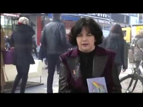 Nada Topić Peratović i Oliver Frljić u Govornici HTV-a (originalna snimka)