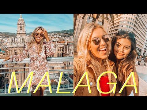 Malaga Travel Vlog - Girls Trip To Malaga! Spain Vlog!