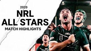 2020 NRL ALL STARS - MATCH HIGHLIGHTS