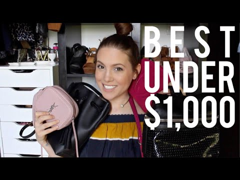 aad1705853ee BEST DESIGNER HANDBAGS UNDER $1,000 | MELSOLDERA - YouTube