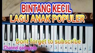Cara main Pianika. BINTANG KECIL LAGU ANAK POPULER