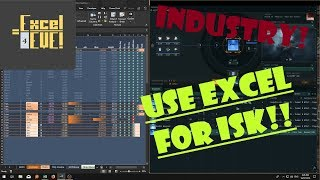 EXCEL for EVE online industry, INCREDIBLE!