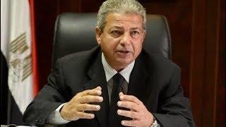 حوار خاص مع وزير الشباب والقرار الاخير في انتخابات اتحاد الكرة المصري