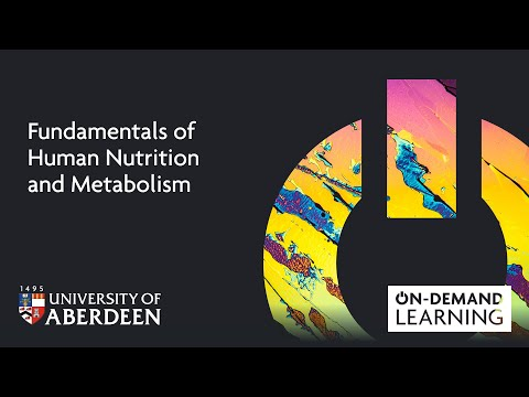Fundamentals of Human Nutrition and Metabolism - Online short course